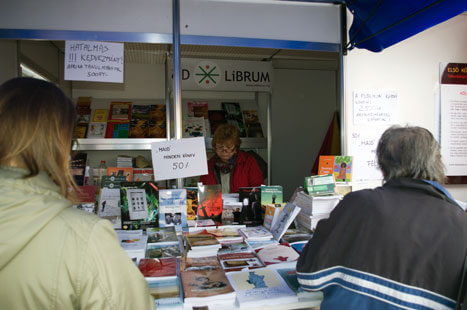 Ad Librum könyvheti stand
