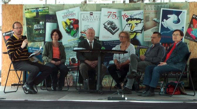 Ünnepi Könyvhét kerekasztal a memoárokról az Ad Librum vezetőjével, 2016