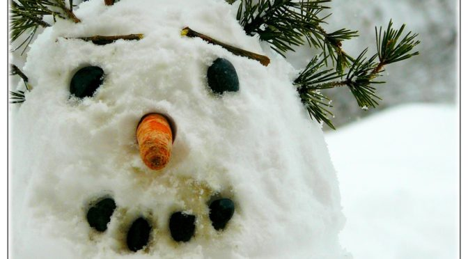 A boldog hóember