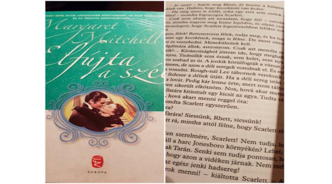 Krencz Nóra (Ad Librum Kiadó) A könyvek és én: Elfújta a szél